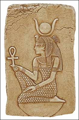 Isis with Ankh